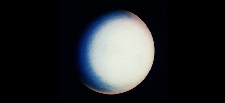 Размеры Урана