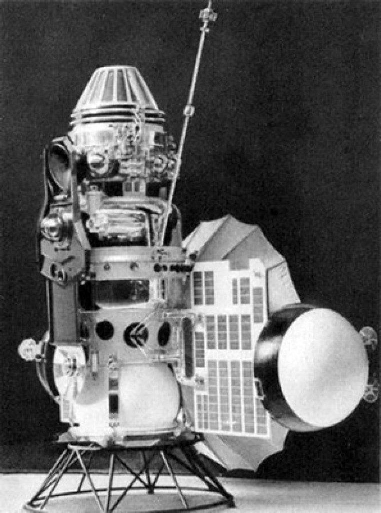 Венера-3, автоматическая межпланетная станция