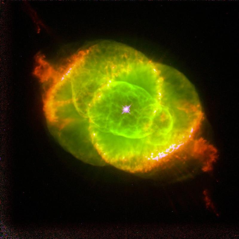 Фотография, сделанная телескопом Хаббла в 1994 году
