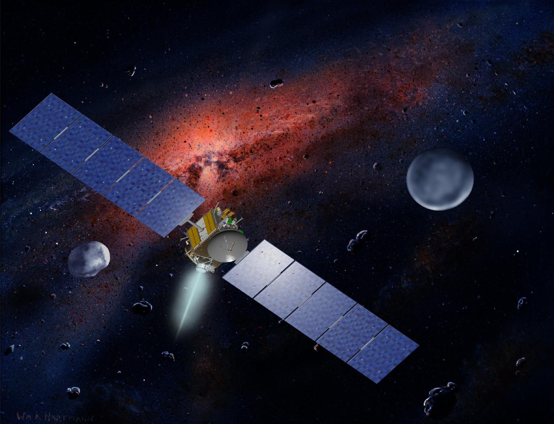 Где находится пояс астероидов