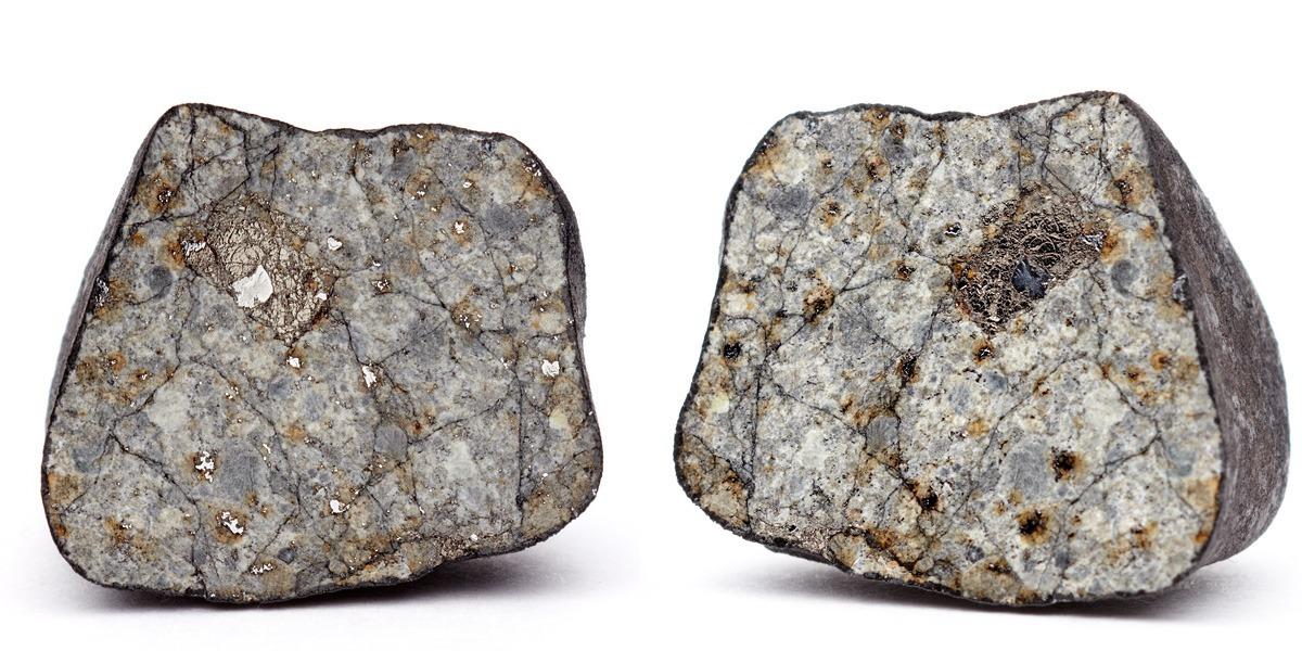 Макросъемка куска Челябинского метеорита, сделанная екатеринбургским фотографом Павлом Мальцевым в Уральском федеральном университете.