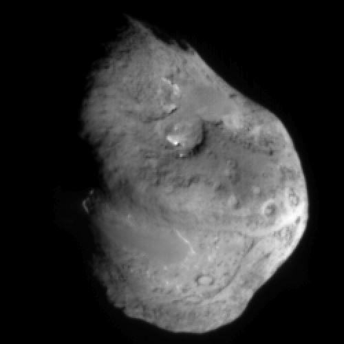 Ядро кометы Темпеля 1