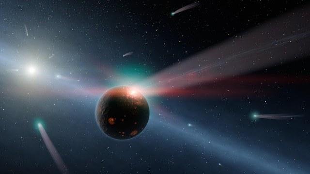 Состав и строение кометы