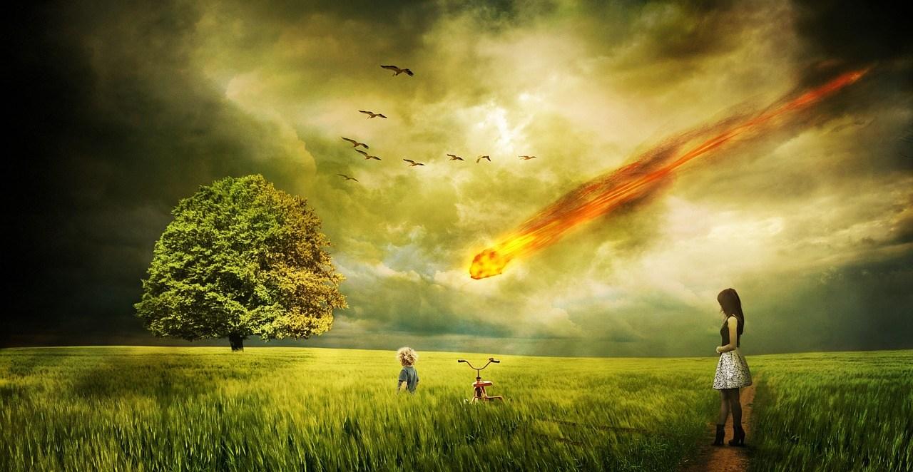 Столкновении астероида с Землёй
