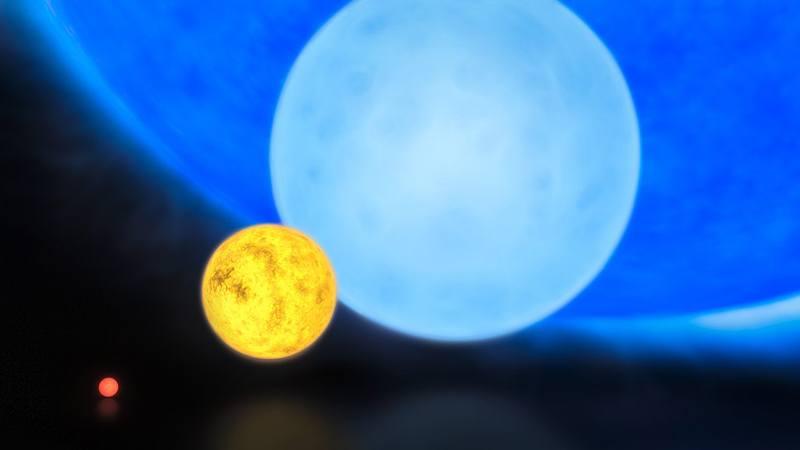 Самая массивная звезда R136a1