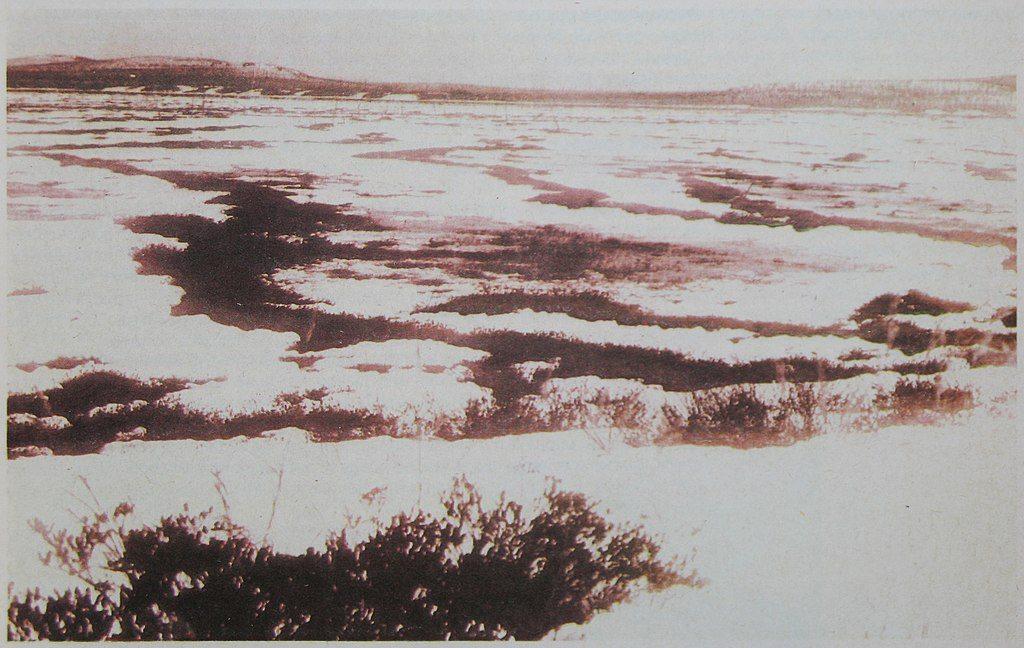 Топи Тунгуски, в районе которых упал феномен. Фотография из журнала Вокруг света, 1931