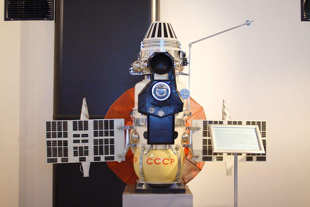 Модель «Венеры-4» в музее