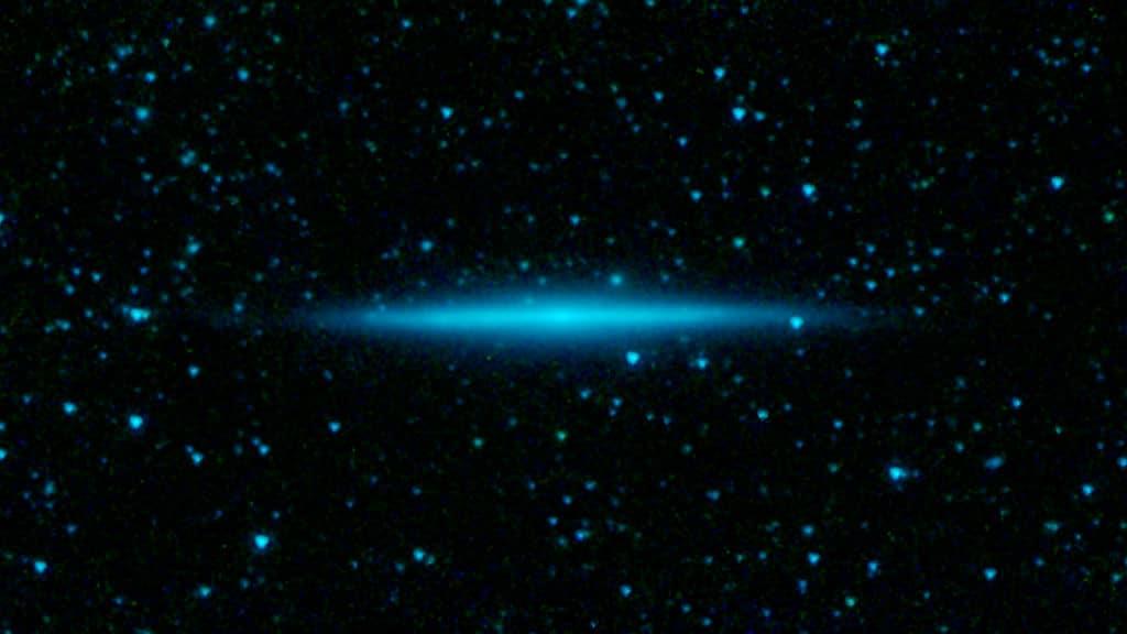 Галактика UGC 10288, расположена на расстоянии 100 миллионов световых лет