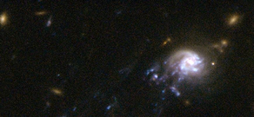 О спиральной галактике