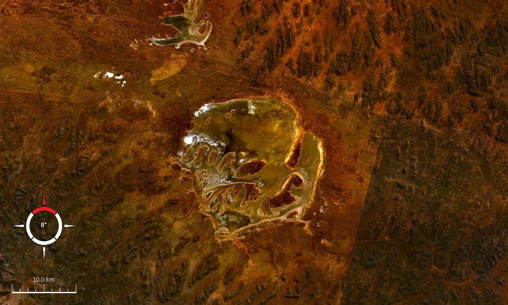 Спутниковый снимок Акрамана