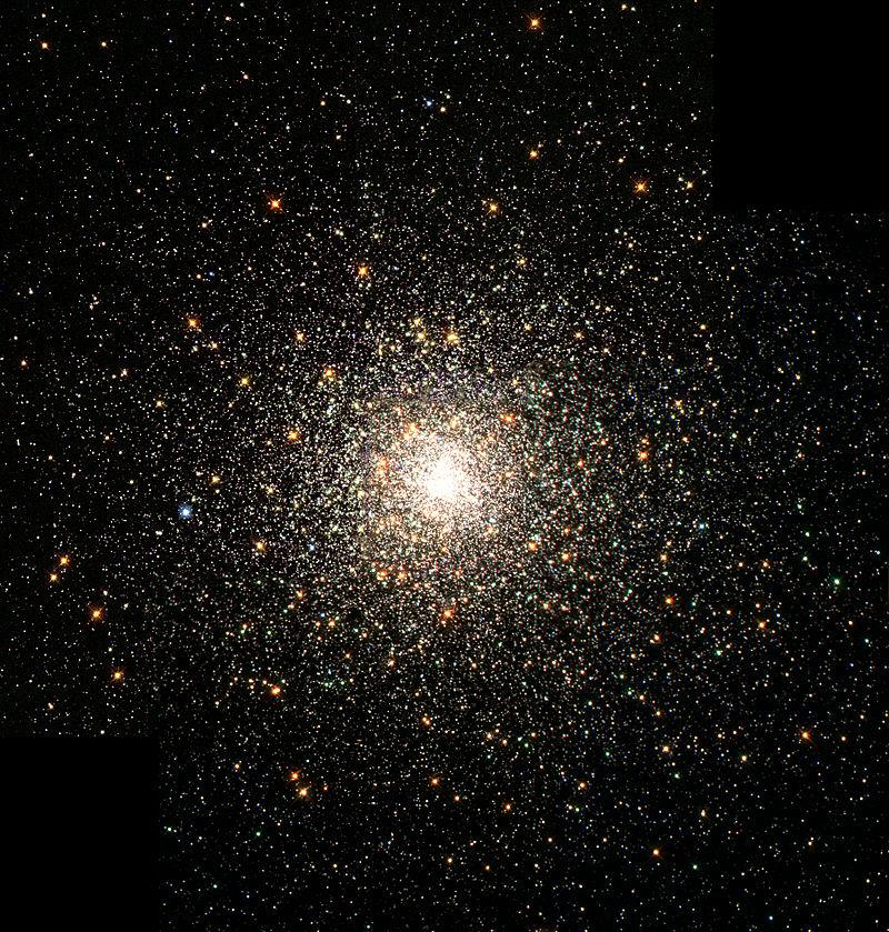 Шаровое скопление Мессье 80 в созвездии Скорпиона расположено в 28 000 световых годах от Солнца и содержит сотни тысяч звёзд.