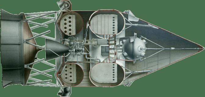 Схема размещения Спутника-1
