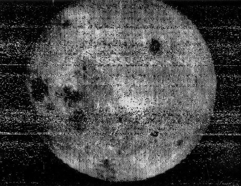 Первый снимок обратной стороны Луны («Луна-3», 1959)