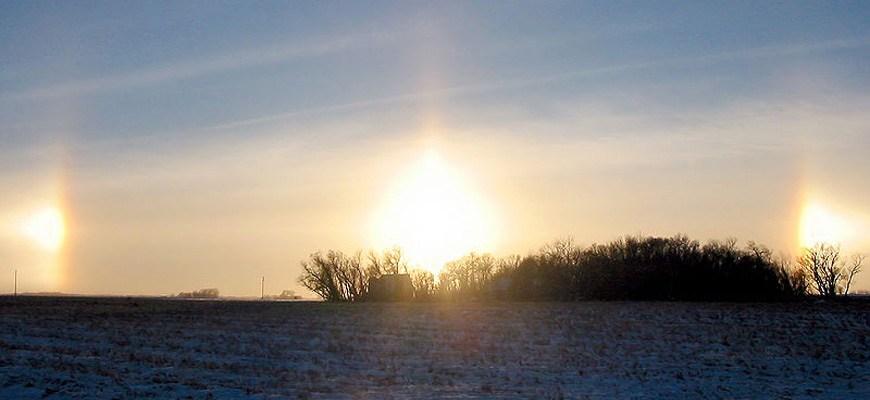 Паргелий или ложное Солнце
