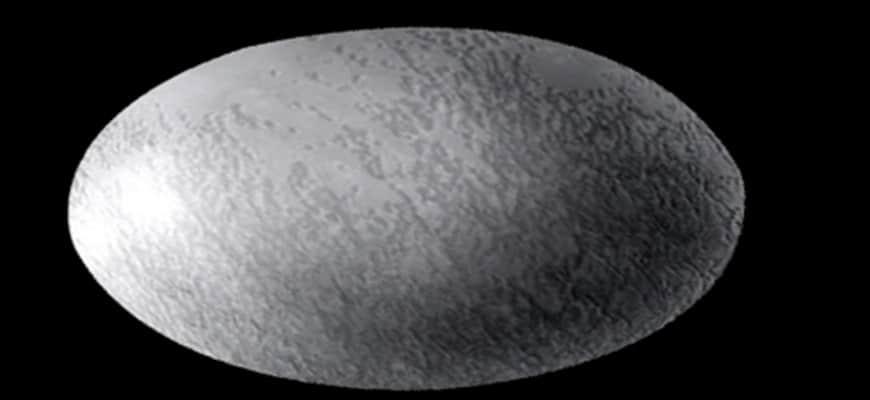 Хаумеа - карликовая планета