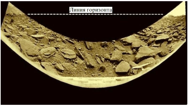 Панорамы «Венеры-9» в новой обработке, в цвете.