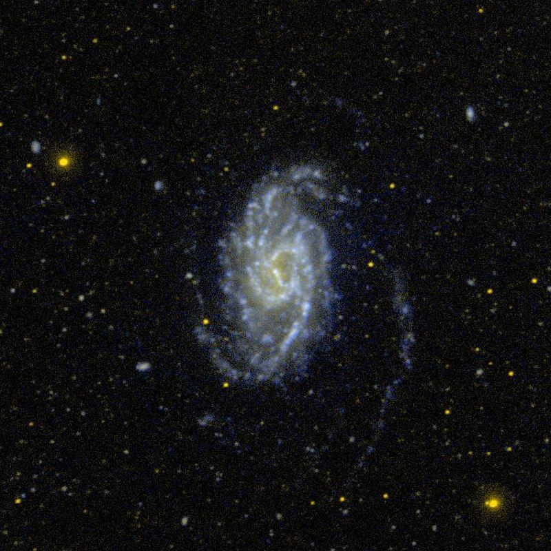 Галактика NGC 3359