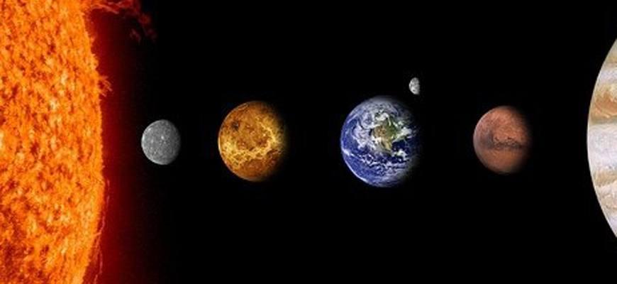 Какая по счету от Солнца планета Земля